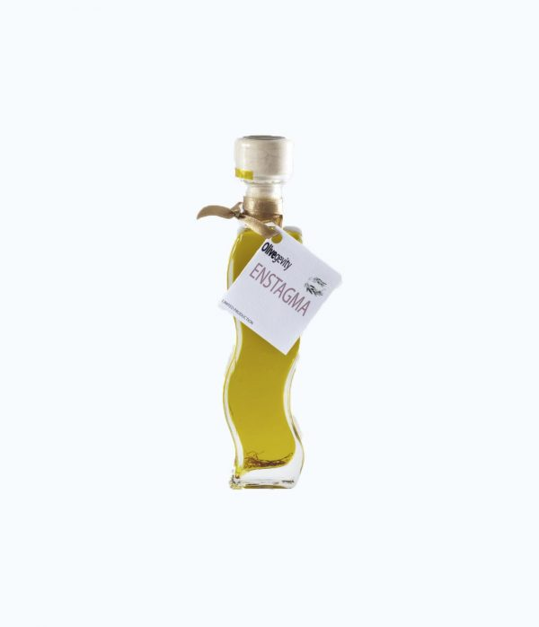 Flavored Olive Oil infused with wild saffron