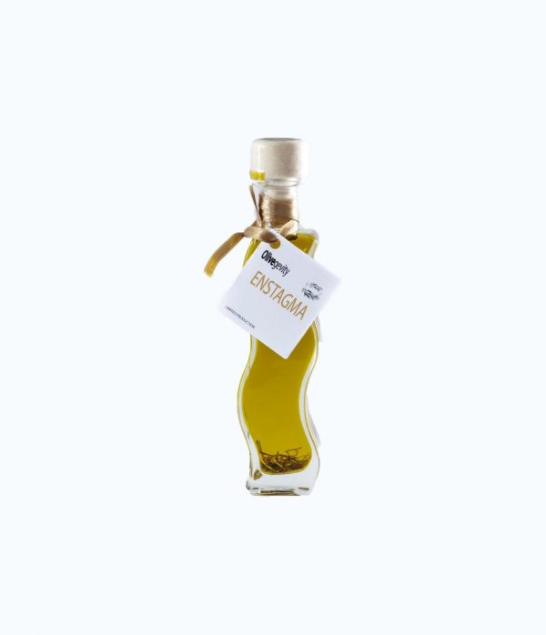 Flavored Olive Oil with Saffron & Rosemary